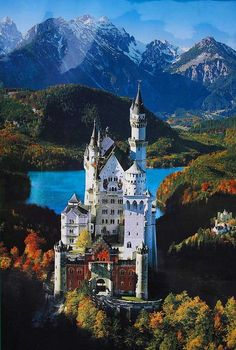 Neuschwanstein Castle, Bavaria, Germany This is one of the places I would love to visit. I know that Walt Disney designed their castle after seeing this one in Austria. It shows that Austrian Architecture is something that cannot be replicated. Places Around The World, Oh The Places You'll Go, Travel Around The World, Places To Travel, Places To Visit, Around The Worlds, Beautiful Castles, Beautiful World, Wonderful Places