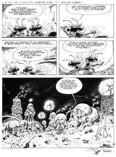 © FRANQUIN. Idées noires. Fluide Glacial 1981