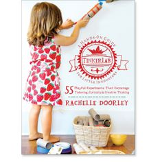 Our in-house tinkerers and I are so excited for this book!  Tinkerlab: A Hands-On Guide for Little Inventors by Rachelle Doorley [Roost Books]