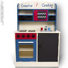 Wooden Child Play Kitchen Kid Toy Kitchenette Pretend Kids Cook Oven Children