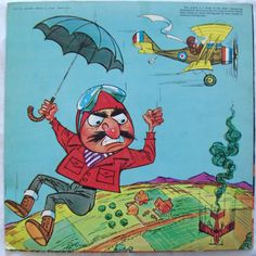 Snoopy VS. The Red Baron (Back) of album cover