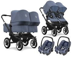 bugaboo donkey 2 baby zwillingskinderwagen. Black Bedroom Furniture Sets. Home Design Ideas