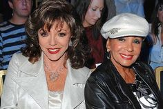 Joan Collins and and Shirley Bassey, 2007 Shirley Bassey, Best Mate, Joan Collins, People Of Interest, Good People, Make Me Smile, Hollywood, Singer, Celebs