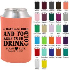 Custom Wedding Koozies Clipart 1574 To Have And By MyWeddingStore 4900