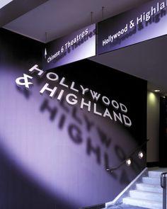 Wayfinding | Hollywood & Highland noir