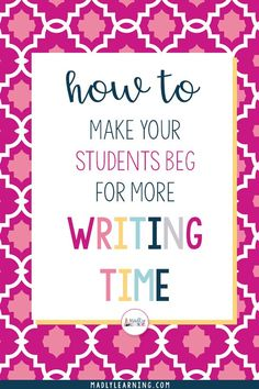 Elementary writing activities - How To Make Your Students Beg For More Writing Time – Elementary writing activities Teaching Social Skills, Teaching Writing, Start Writing, Sentence Writing, Opinion Writing, Teaching English, Teaching Ideas, Writing Worksheets, Writing Lessons