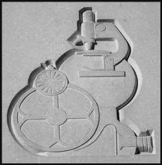 ❤ -  Bas-Relief (Science): Horace H. Rackham Educational Memorial--Detroit MI