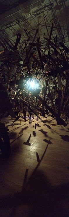 Whitworth Art Gallery opens with Cornelia Parker show - Cold Dark Matter