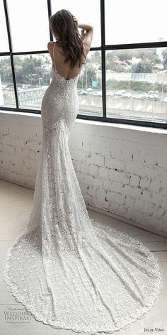 julie vino 2019 romanzo bridal sleeveless spaghetti strap sweetheart neckline full embellishment elegant fit and flare wedding dress open back chapel train (9) bv