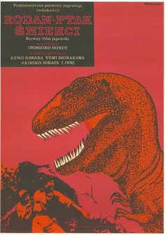 Rodan The Flying Monster Film Poster by Janusz Rapnicki, 1967 Polish Movie Posters, Polish Films, Flying Monsters, Scary Monsters, Osaka, Imperial Dreams, Destroyer Of Worlds, Classic Monsters, Sale Poster