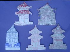 Japanese Archtiecture Foam Blocks   Flickr - Photo Sharing!
