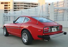 1978 Datsun survivor in Persimmon with Appliance slotted mag wheels Nissan Z Cars, Hyundai Cars, My Dream Car, Dream Cars, Datsun 280z, Kia Stinger, Night Driving, Racing Stripes, Japanese Cars