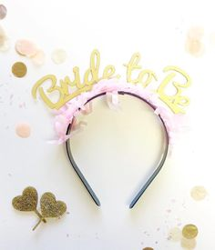 This super cute bride to be headband is back! The perfect accessory for a stylish and classy hen party or bridal shower. Buy now on thehenplanner.com #hen #party #bride #hens #night #shower #classy #stylish #alternative #fun