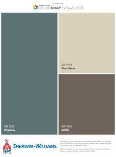 home decor cheap Exterior Paint Schemes, Exterior Paint Colors For House, Interior Paint Colors, Paint Colors For Home, Exterior Colors, Tan House, Brown House, Outside Paint, House Paint Color Combination