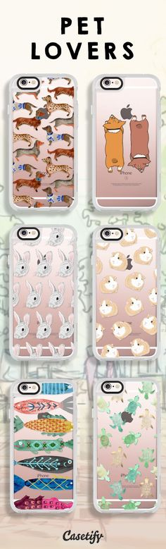 Because you can never have too much pets, shop these designs here: www.casetify.com/...