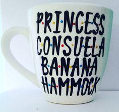 F•R•I•E•N•D•S Crap BAG- Princess Consuela- Banana Hammock coffee mug- friends tv show- rachel| ross| monica|chandler| phoebe| joey