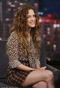 Riley on Jimmy Kimmel Show, summer 2016