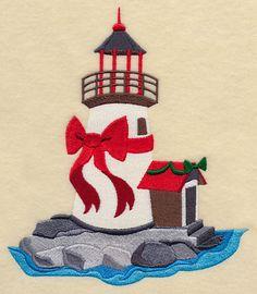 Christmas at the Beach Lighthouse