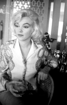 Marilyn Monroe photographed by George Barris.