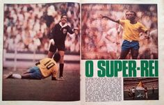 REVISTA PLACAR 12/06/1970 - FIFA WORLD CUP - 1970 - PELE