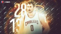 Kevin Love with the huge performance to help lead the Cleveland Cavaliers to a Game 1 victory.
