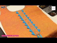 Latest Neck Design Cutting And Stitching, Stylish Neck Design #stitchingclass - YouTube