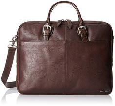Cole Haan Men's Pebble Zip Top Attache Macbook Pro Case, Laptop Computers, Slip, Travel Bags, Cole Haan, Iphone Cases, Tops, Shell Tops