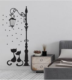 Simple Wall Paintings, Creative Wall Painting, Creative Wall Decor, Wall Painting Decor, Creative Walls, Diy Wall Decor For Bedroom, Bedroom Wall Designs, Wall Stickers Home Decor, Wall Stickers Murals