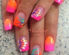 18 Seaside Nail Art Designs, Suggestions, Trends