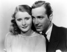 Check out this image from TCM.   Publicity still of Barbara Stanwyck as Florence Fallon and David Manners as John Carson
