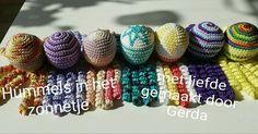 Deze inktvisjes zijn gemaakt door Gerda  van Geest.