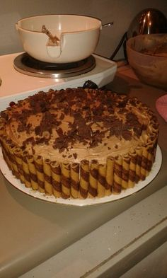 Attempted coffee cake