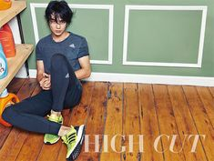 An Athletic Yoo Seung Ho For High Cut's Vol. 156 | Couch Kimchi
