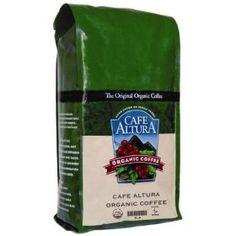 Cafe Altura Organic Coffee, Sumatran Dark Roast, Whole Bean, 32-Ounce Bag
