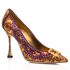 Manolo Blahnik *Known for its high heels, beautiful curves, high but steady