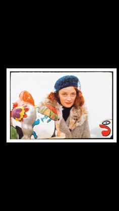 Michel Ginies - Niki de Saint Phalle à la Galerie Iolas, New York, 1974 - Color photograph - 23,8 x 36 cm