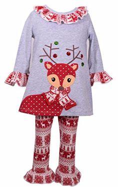 8ac9c50b49 Tunic and Legging Set Nordic Reindeer Design Spandex Pants, Spandex Dress, Baby  Girl Christmas