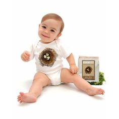 Seedling Kids Bodysuit | Organic Spa Magazine 2013 Gift Guide: New Parent | #OrganicSpaMagazine