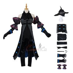 Skadi Costume Arknights Cosplay For Christmas Cosplay Dress, Anime Cosplay, Game Costumes, Cosplay Costumes, Mephisto, Womens Size Chart, Online Sales, Long Toes, Item Number