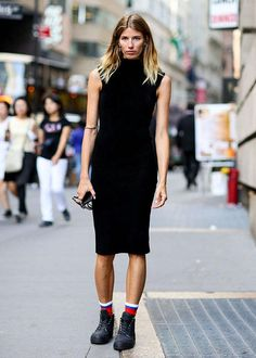 New York Fashion Week street style -