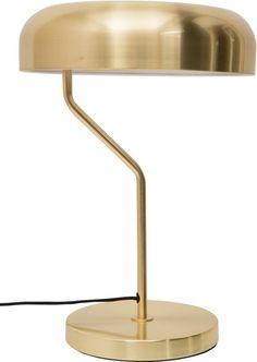 Dutchbone - Desklamp Eclipse - Bureaulamp - Goud