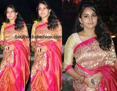 Bhamaa in Label'M Saree ~ Celebrity Sarees, Designer Sarees, Bridal Sarees, Latest Blouse Designs 2014