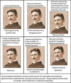Nicolas Tesla- this is why I love him
