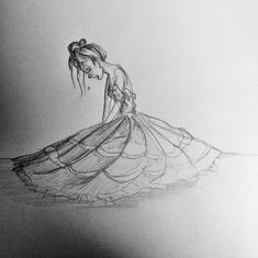 #girl #woman #crying #tears #dress #darkness #sketch #ideas #doodle #hair #ground #sorrow #sadness #pencil #drawing #black #white Crying Girl Sketch, Crying Girl Drawing, Cry Drawing, Sad Sketches, Sad Drawings, Girl Drawing Sketches, Disney Drawings, Female Drawing, Woman Drawing