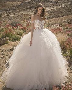 24 Chic Bridal Dresses: Styles & Silhouettes ❤ bridal dresses ball gown sweetheart neckline lace pnina tornai #weddingforward #wedding #bride #weddingoutfit #bridaloutfit #weddinggown