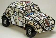 cement and mosaic art | ... 12.6 in. Ceramic, cement adhesive, expandible foam, grout