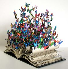 Surreal Beautiful Artistic Butterfly Book