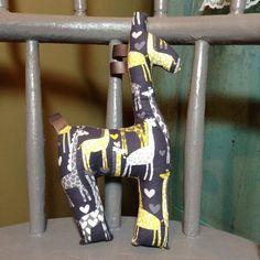 Giraffe Stuffed Toy, Plush Toy, Spotted Love Giraffe, Babywearing Accessory, Giraffe Stuffie, Great Baby Shower Gift, Gender Neutral Gift