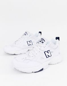 Shop New Balance 608 trainers in white at ASOS. Boho Outfits, Trendy Outfits, Girl Outfits, Cute Outfits, New Balance White, New Balance Shoes, Latest Fashion Clothes, Latest Fashion Trends, Teenager Outfits