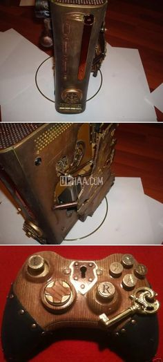 Awesome Steampunk XBox 360 mods!